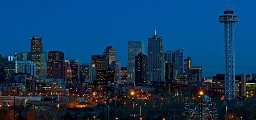 Image of Denver skyline