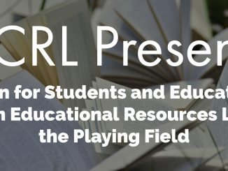 OER ACRL Presents graphic