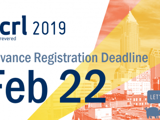 ACRL 2019 Advance Registration Deadline