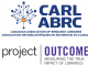 Canadian Association of Research Libraries (logo). Project Outcome (logo).