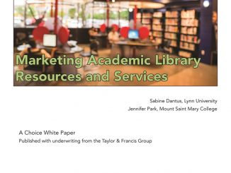 Marketing Academic Library Resources and Services cover