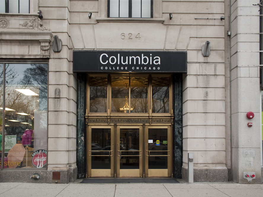 Columbia College Chicago Library building