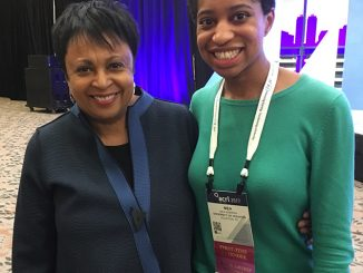 Mea Warren and Carla Hayden