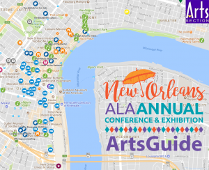 New Orleans Arts Guide screenshot