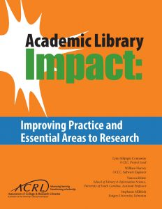 Academic Library Impact report cover
