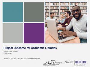 Project Outcome Annual Report