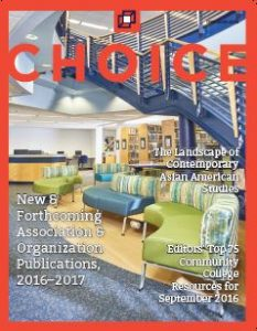 Choice September 2016 cover