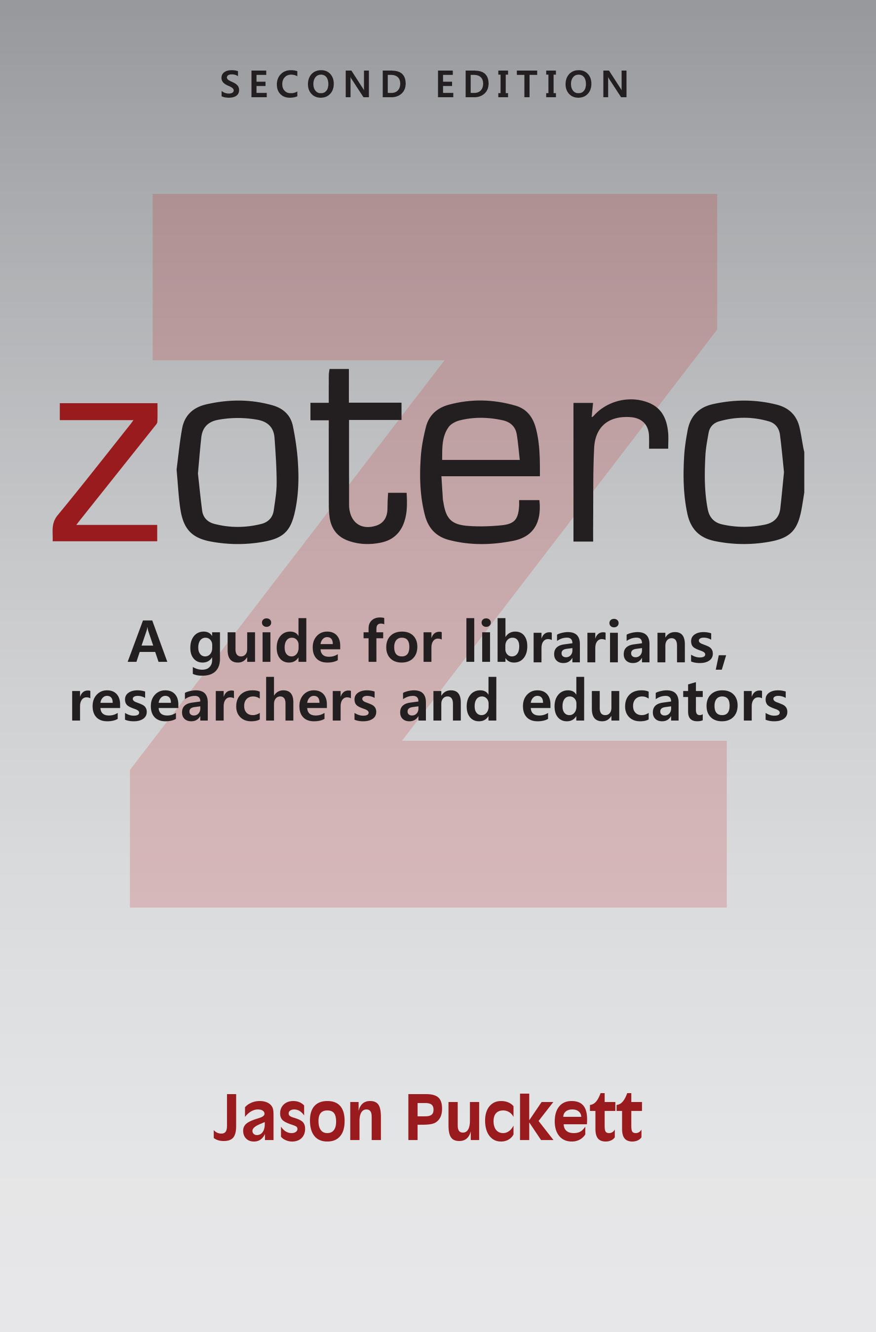 Zotero book cover