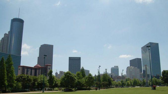 Atlanta skyline image