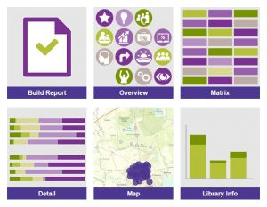 Project Outcome for Academic Libraries dashboards