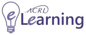 ACRL E-Learning logo with light bulb