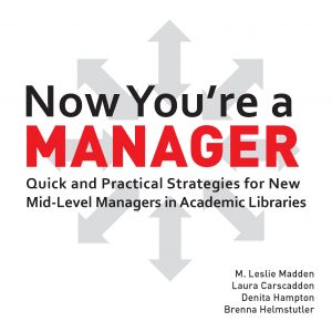 Now You're a Manager cover