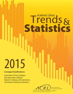 2015 Academic Library Trends and Statistics