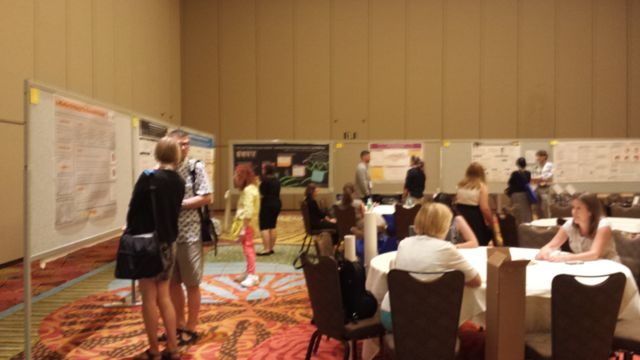 AiA Poster Session - Photo courtesy of Karen Brown